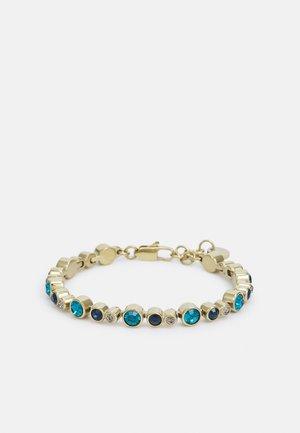 TERESIA - Armband - gold-coloured/blue