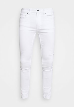 ONSWARP LIFE CROP - Slim fit jeans - white denim