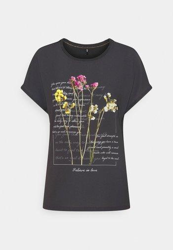 ONLWENDY - Print T-shirt - phantom