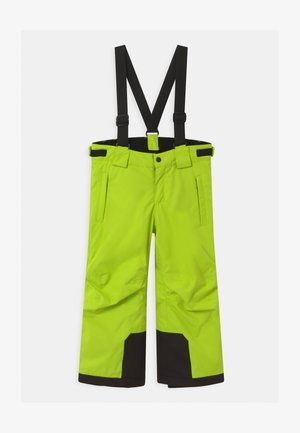 WINTER TAKEOFF UNISEX - Snow pants - lime green