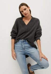 Mango - SOHO - Jeans Skinny Fit - middenblauw - 3