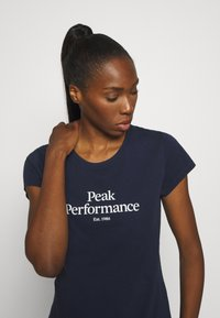 Peak Performance - ORIGINAL TEE - T-shirt con stampa - blue shadow - 3