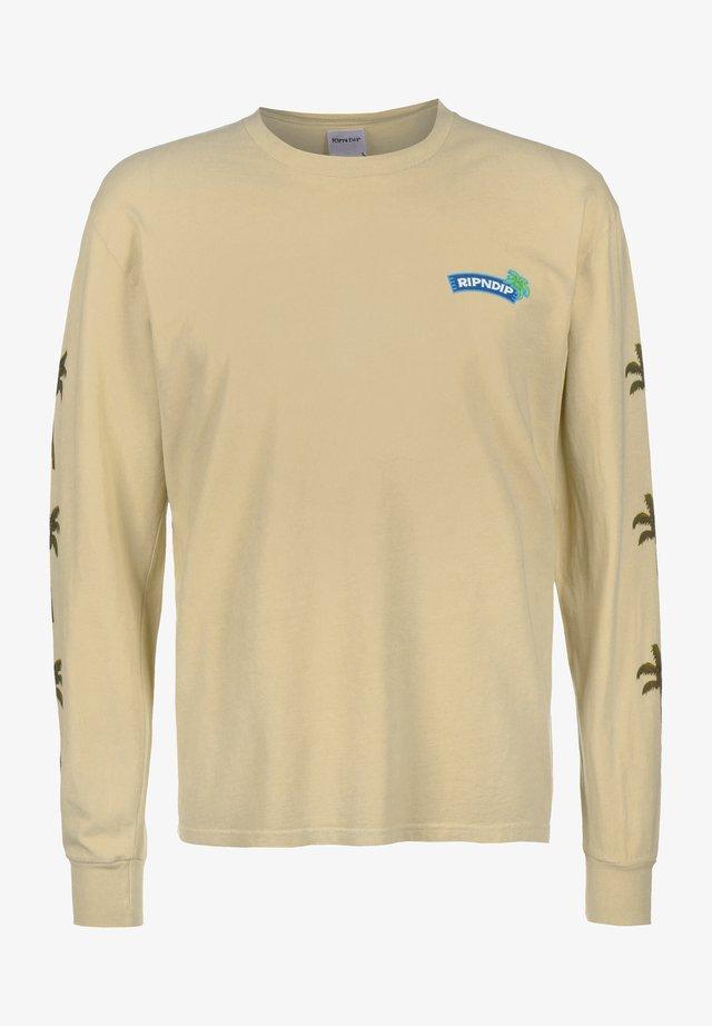 Pitkähihainen paita - tan