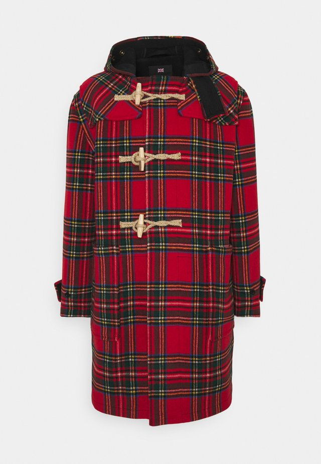TARTAN MONTY - Classic coat - black/royal