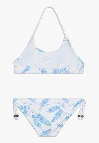 Sunuva - GIRLS FEATHERS HALTER SET - Bikini - white - 1