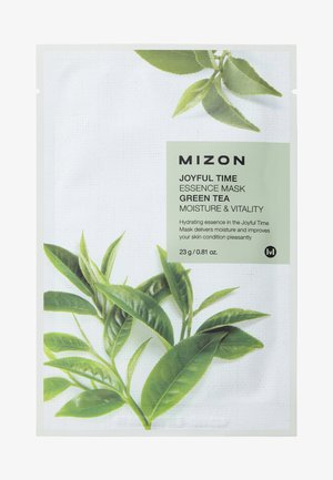 JOYFUL TIME ESSENCE GREEN TEA 4 MASKS PACK - Hudplejesæt - -
