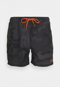Alpha Industries - BASIC SWIM - Swimming shorts - black - 0