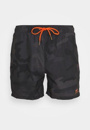 BASIC SWIM - Swimming shorts - black