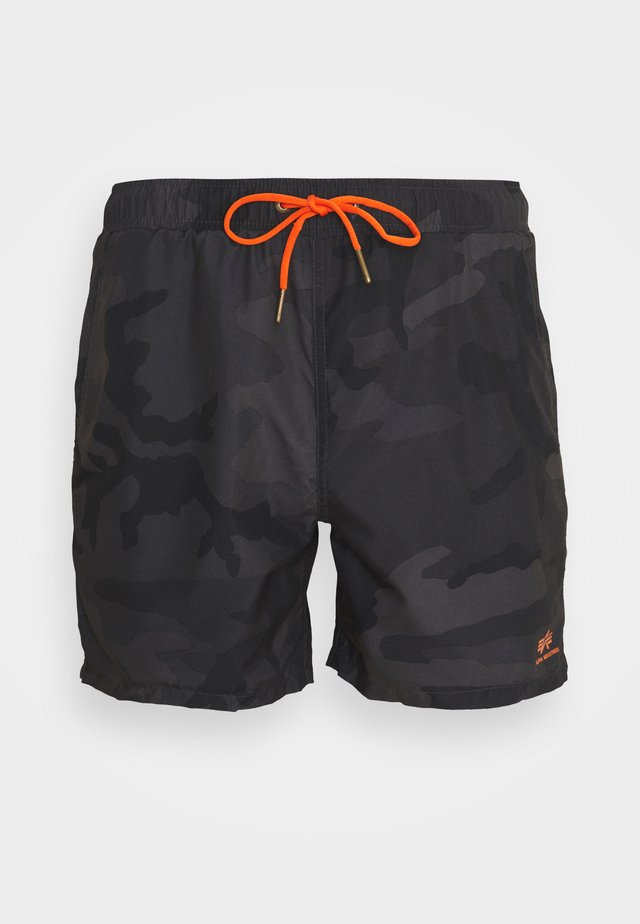BASIC SWIM - Swimming shorts - black