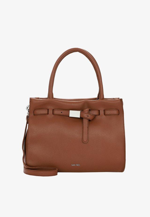 SHOPPER SINDY - Handbag - cognac 700