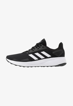 DURAMO 9 - Neutrala löparskor - core black/footwear white