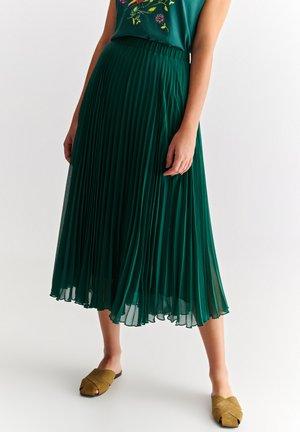MERIDIANA - A-line skirt - green
