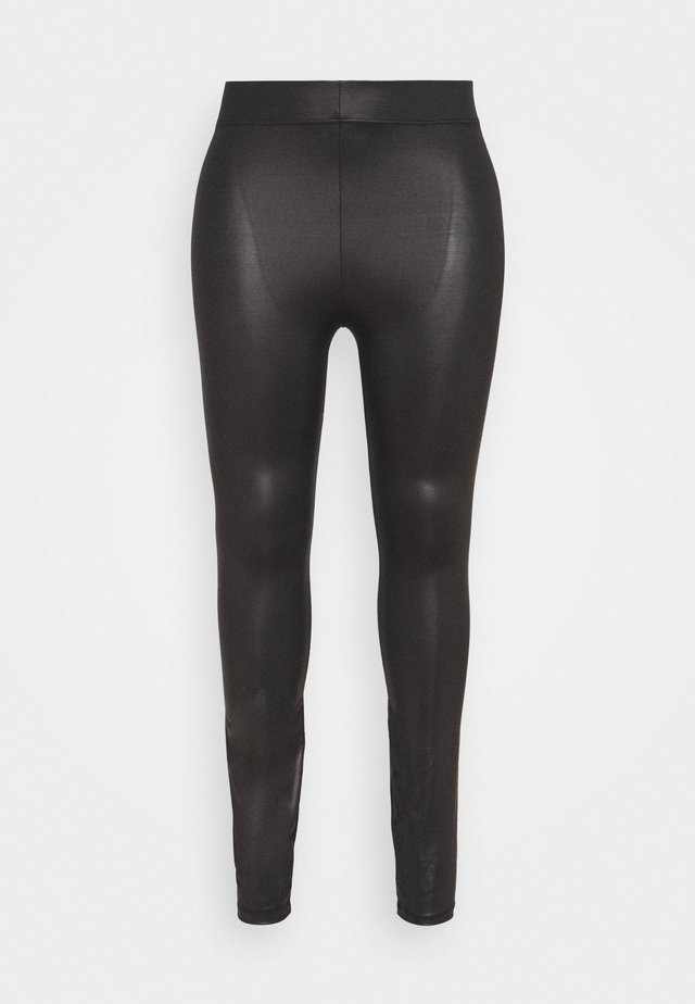 JRSHINY - Leggingsit - black