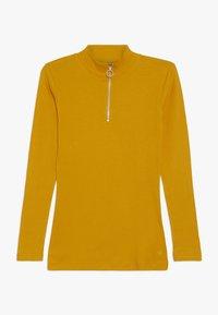 D-XEL - ISMA LONGSLEEVE - Long sleeved top - yellow - 0