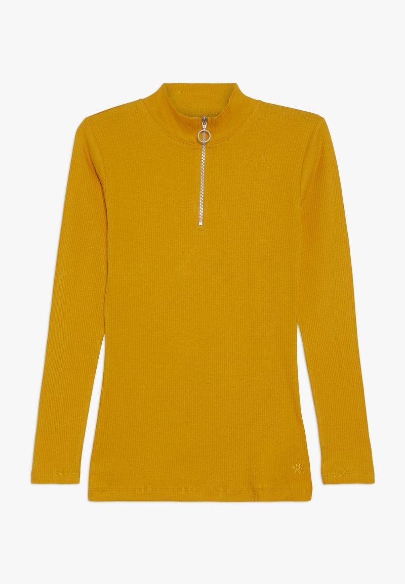 D-XEL - ISMA LONGSLEEVE - Long sleeved top - yellow