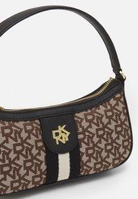 DKNY - CAROL BAGUETTE - Handbag - chino/black - 3