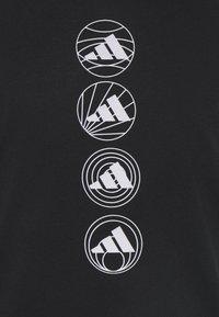 adidas Performance - RUN LOGO TANK M - Sports shirt - black - 5