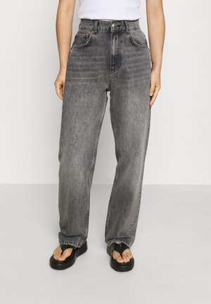 90S HIGH WAIST - Relaxed fit jeans - washed grey