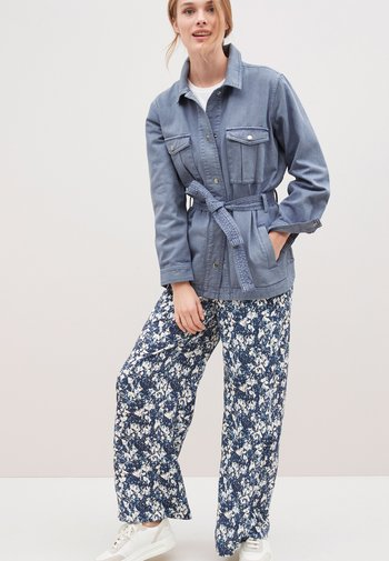 Denim jacket - lilac