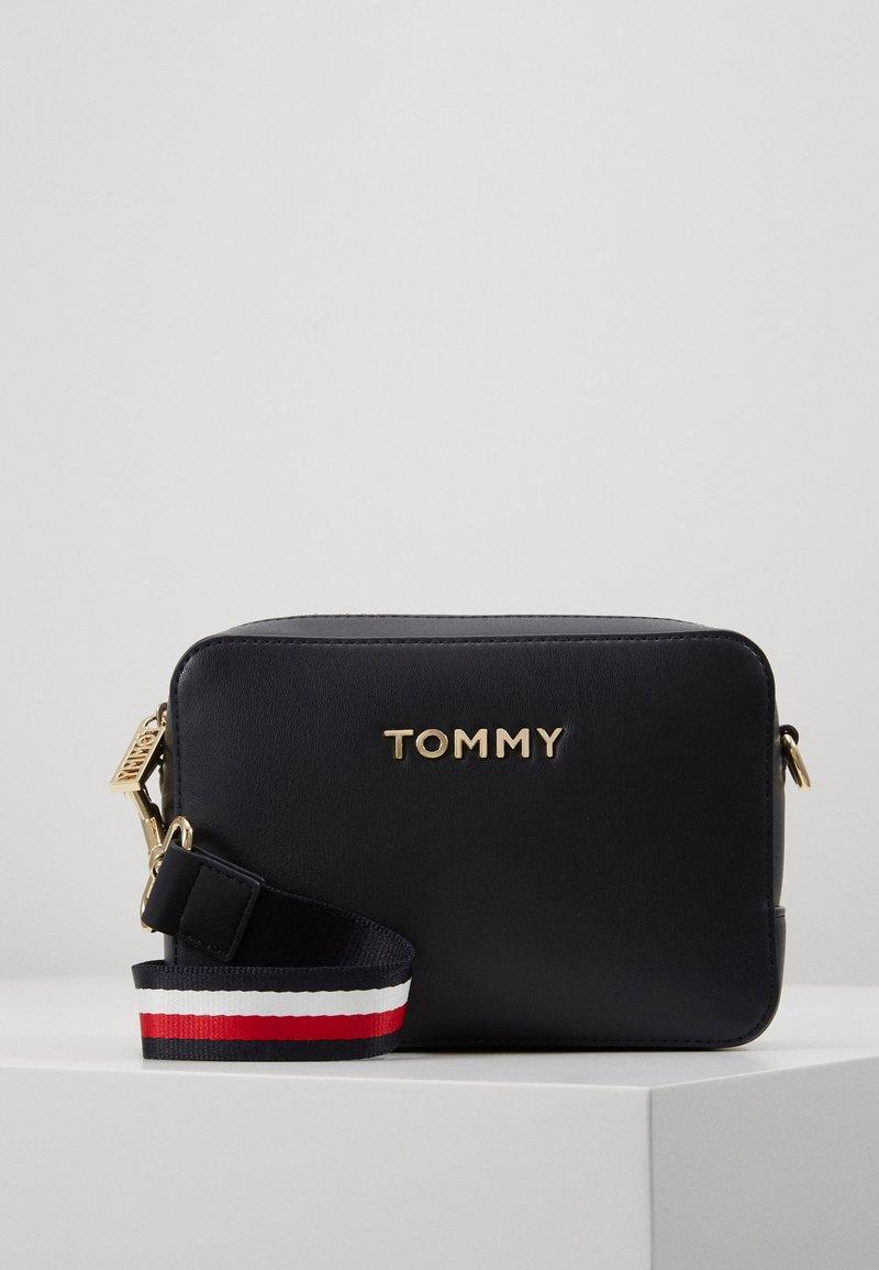 Tommy Hilfiger - ICONIC CAMERA BAG - Across body bag - blue