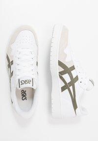 ASICS SportStyle - JAPAN UNISEX - Sneakersy niskie - white/mantle green - 1