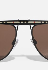 Burberry - UNISEX - Sluneční brýle - black - 4