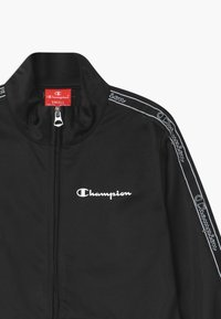Champion - LEGACY FULL ZIP SUIT SET - Tracksuit - black