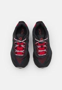 Merrell - MOAB SPEED LOW WTRPF UNISEX - Outdoorschoenen - grey/black/red - 3