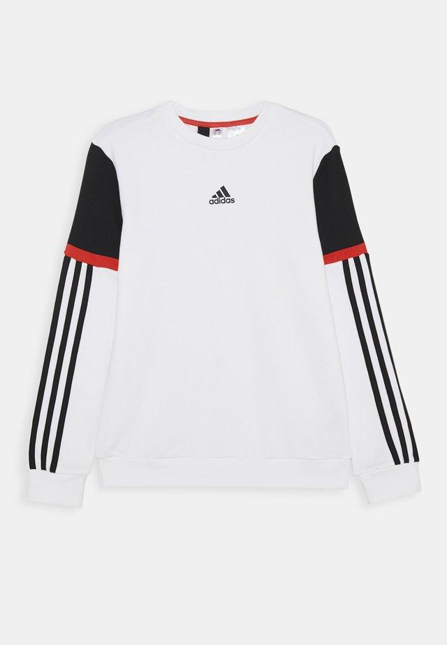 BOLD CREW UNISEX - Sweatshirt - white/black