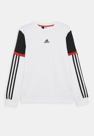 BOLD CREW - Sweatshirt - white/black