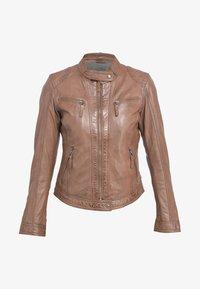 Oakwood - HOLA - Leather jacket - camel - 3