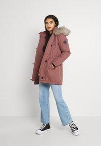 ONLY - ONLIRIS  - Zimní kabát - burlwood - 1