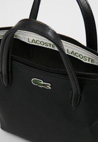 Lacoste - SHOPPING CROSS BAG - Handbag - black - 4