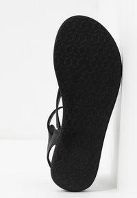 O'Neill - BATIDA COCO - T-bar sandals - black out - 6