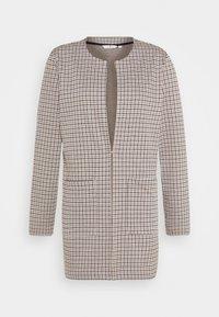TOM TAILOR - LONG CHECK - Short coat - camel - 4