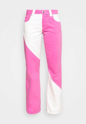 DELTA - Relaxed fit jeans - amarena