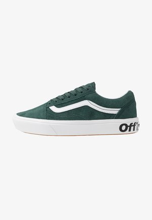 COMFYCUSH OLD SKOOL - Sneakersy niskie - trekking green/true white