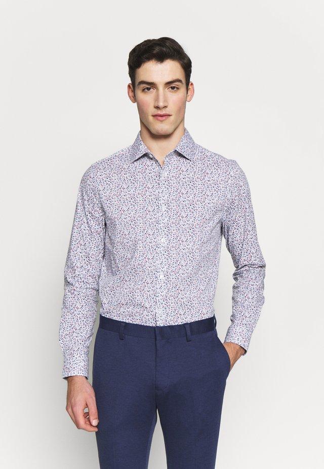 BLUESCATTERED FLORAL PRINT - Overhemd - blue