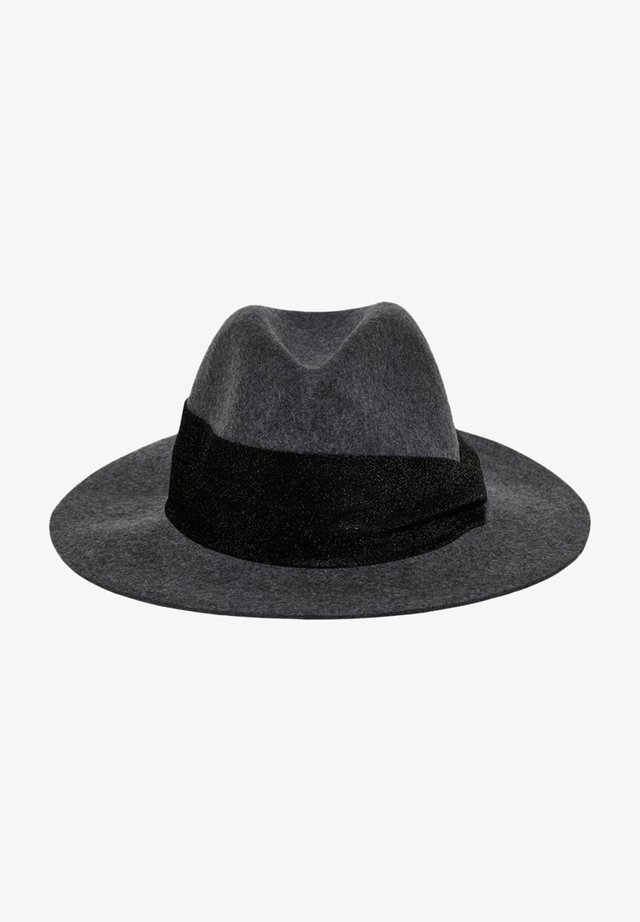 HUT WOLL - Hat - dark grey melange