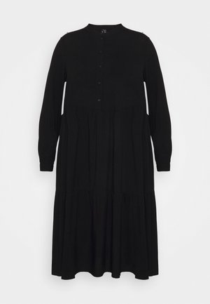 VMVICA CALF DRESS - Jurk - black