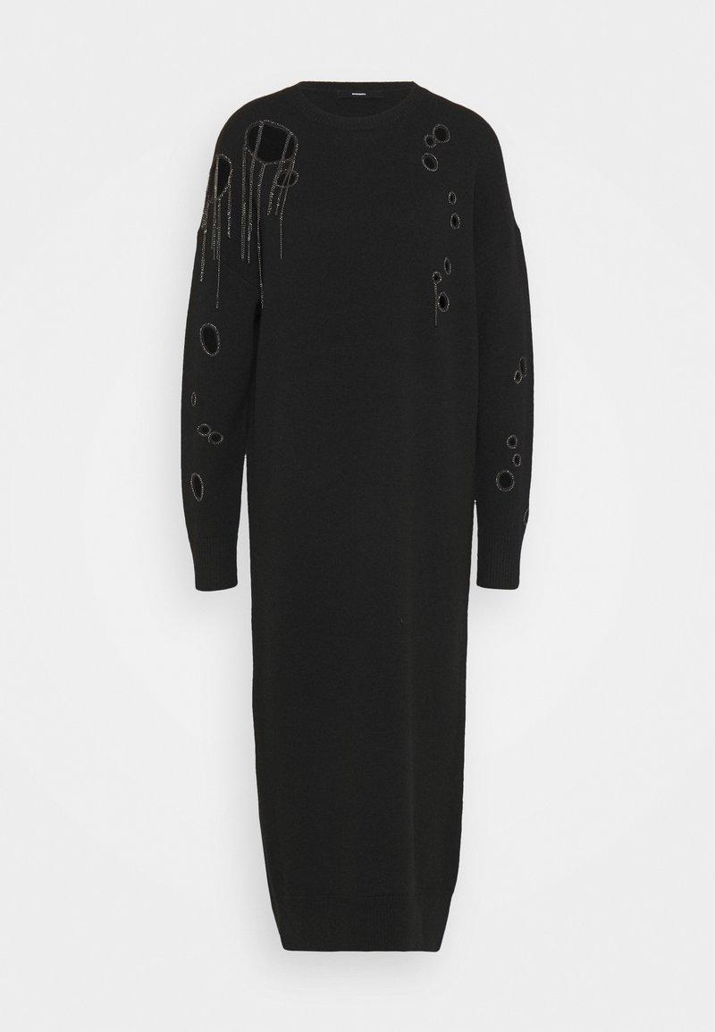 Diesel - M-EMERALD - Vestido de punto - black