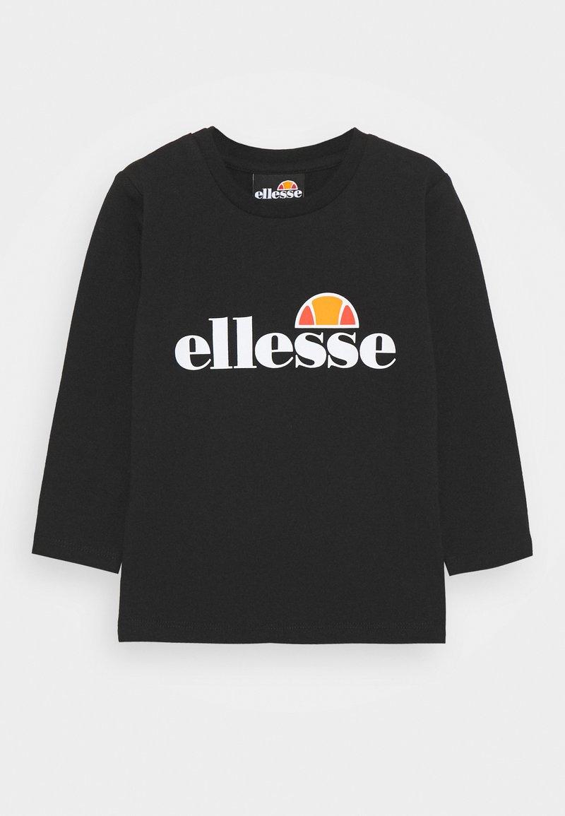 Ellesse - BENIN BABY UNISEX - Long sleeved top - black