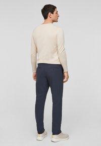 s.Oliver BLACK LABEL - MIT HYPERSTRETCH - Suit trousers - dark blue - 2