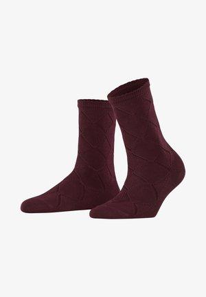 ARGYLE CORROSION - Socks - barolo
