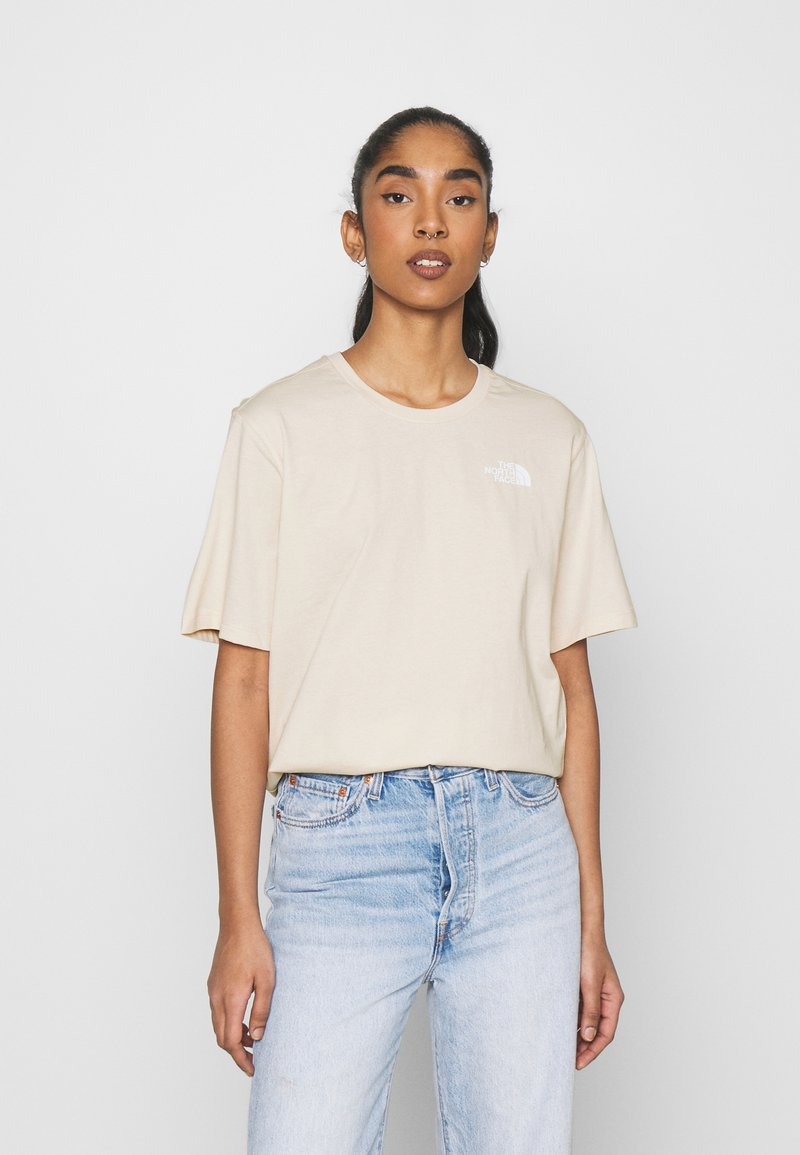 The North Face - SIMPLE DOME - T-shirts - pink tint