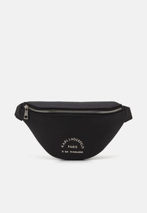BUM BAG UNISEX - Bum bag - black