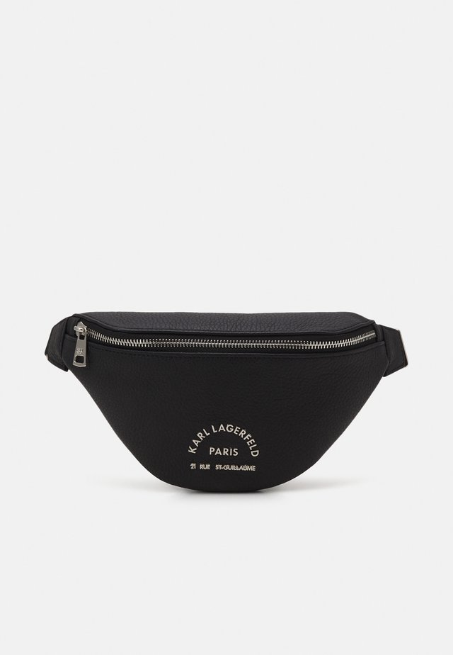 BUM BAG UNISEX - Riñonera - black