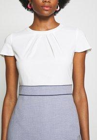 s.Oliver BLACK LABEL - Shift dress - blue panne - 5