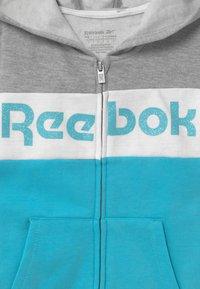 Reebok - FULL ZIP COLOR BLOCK HOODIE - Mikina na zip - grey - 2