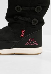 Kappa - Winter boots - black/pink - 5